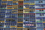 Colorful Windows Near Lille Station, Lille, France Photographic Print by Kymri Wilt