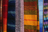 Woven Moroccan Silk Textiles and Scarves, Fes, Morocco, Africa Photographic Print by Kymri Wilt