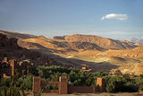 View from Ait Ben Haddou, UNESCO World Heritage Site, Ourzazate, Morocco, Africa Fotografisk tryk af Kymri Wilt