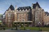 Fairmont Empress Hotel, Victoria, Vancouver Island, British Columbia, Canada Photographic Print by Walter Bibikow