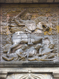 Bas Relief on Fort Gate of Fort Santiago, Fortification, Manila, Philippines Photographic Print by Keren Su