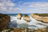 Coastline, Loch Ard Gorge, Elephant Rock, Muttonbird Is, Great Ocean Road, Australia Photographic Print by Martin Zwick