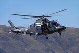 Rnzaf Augustawestland A109 Helicopter, Warbirds over Wanaka, Warplane, New Zealand Photographic Print by David Wall