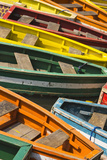 Colorful Boats, Manila, Philippines Photographic Print by Keren Su