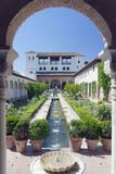 Palacio Del Generalife, Alhambra, Granada, Andalucia, Spain Fotodruck von Rob Tilley