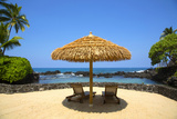 Nohea Point, Royal Kona Resort, Kailua-Kona, Big Island, Hawaii, USA Photographic Print by Douglas Peebles