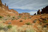 Park Avenue, Arches National Park, Utah, USA Photographic Print by Roddy Scheer