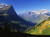 Autumn Near Logan Pass, Glacier National Park, Montana, USA Photographic Print by Adam Jones