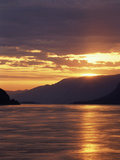 View of Columbia River Gorge at Sunrise, Oregon, USA Photographic Print by Stuart Westmorland