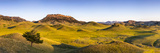 Panoramic, Bears Paw Mountains in Summer in Blaine County, Montana, USA Photographic Print by Chuck Haney
