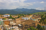 Cityscape, Trinidad, UNESCO World Heritage Site, Cuba Photographic Print by Keren Su