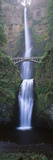 View of Multnomah Falls in Columbia Gorge, Oregon, USA Fotografie-Druck von Walter Bibikow