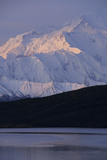 Mount McKinley, Wonder Lake, Sunrise, Denali National Park, Alaska, USA Photographic Print by Gerry Reynolds