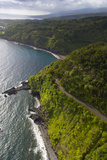 Coastline, Kaumahina State Wayside Park, Hana Coast, Maui, Hawaii, USA Photographic Print by Douglas Peebles