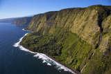 Waterfalls, North Kohala Coast, Big Island, Hawaii, USA Photographic Print by Douglas Peebles