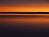 View of Yellowstone Lake at Sunset, Yellowstone National Park, Wyoming, USA Photographic Print by Scott T. Smith