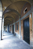 Arched Hallway, Lucca, Italy Photographic Print by Terry Eggers