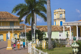 Plaza Mayor, Trinidad, UNESCO World Heritage Site, Cuba Photographic Print by Keren Su