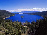 View of Emerald Bay in Lake Tahoe, California, USA Photographic Print by Adam Jones