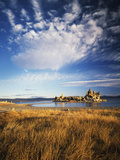 Tufa Rock Formation in Mono Lake, Eastern Sierra, California, USA Photographic Print by Scott T. Smith