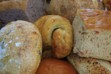 Breads at a Farmer's Market in Savannah, Georgia, USA Photographic Print by Joanne Wells