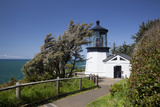 Cape Meares State Viewpoint, Cape Meares Lighthouse, Oregon, USA Photographic Print by Jamie & Judy Wild