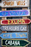 Colorful Signs in Historic Apalachicola, Florida, USA Photographic Print by Joanne Wells