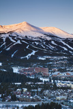 Elevated Town View from Mount Baldy, Breckenridge, Colorado, USA Photographic Print by Walter Bibikow