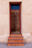 Barrio Vijo Door, Tucson, Arizona, USA Photographic Print by Peter Hawkins