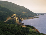 Cabot Trail Along Coastline, Cape Rouge, Cape Breton, Nova Scotia, Canada Photographic Print by Walter Bibikow