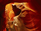 Upper Antelope Canyon, Page, Arizona, USA Reprodukcja zdjęcia autor Michel Hersen