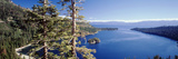 View of Lake Tahoe and Emerald Bay in Morning, California, USA Photographic Print by Walter Bibikow
