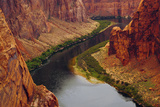 Colorado River from Page, Arizona Overlook, USA Photographic Print by Michel Hersen