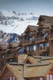 Mountain Village Ski Area, Telluride, Colorado, USA Photographic Print by Walter Bibikow
