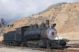 Steam Train Engine, Gold Hill Train Station, Virginia City, Nevada, USA Photographic Print by Michael DeFreitas