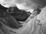 The Wave Formation in Coyote Buttes, Paria Canyon, Arizona, USA Photographic Print by Adam Jones