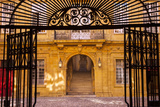 Gated Entry to Hotel De Ville (Town Hall), Aix-En-Provence, France Photographic Print by Brian Jannsen
