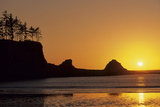 Sunset Beach State Park, Astoria, Oregon, USA Photographic Print by Gerry Reynolds