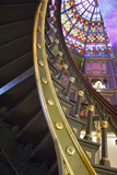 Old State Capitol Building, Spiral Staircase, Baton Rouge, Louisiana, USA Photographic Print by Cindy Miller Hopkins