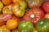 Fresh Tomatoes at a Farmers' Market, Savannah, Georgia, USA Photographic Print by Joanne Wells