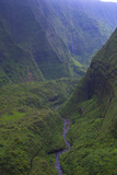 Mt. Waialaale, Kauai, Hawaii, Wettest Spot on Earth, USA Photographic Print by Douglas Peebles