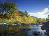Swift River in Autumn, White Mountains National Forest, New Hampshire, USA Photographic Print by Adam Jones