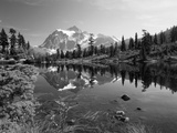 Mt Shuksan with Picture Lake, Mt Baker National Recreation Area, Washington, USA Photographic Print by Stuart Westmorland
