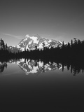 Mt Shuksan with Baker Lake, North Cascades National Park, Washington, USA Photographic Print by Adam Jones