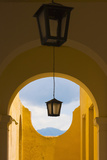 Lantern with Arch Gate, Trinidad, UNESCO World Heritage Site, Cuba Photographic Print by Keren Su