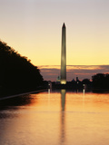 View of Washington Monument, Washington DC, USA Photographic Print by Walter Bibikow