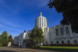 State Capitol Building, Salem, Oregon, USA Photographic Print by Rick A. Brown
