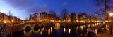 Keizergracht Canal, Leidsegracht Canal, South Holland, Amsterdam, Netherlands Fotodruck von Jim Engelbrecht