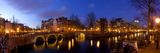 Keizergracht Canal, Leidsegracht Canal, South Holland, Amsterdam, Netherlands Photographic Print by Jim Engelbrecht