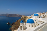 Oia on the Island of Santorini, Greece Photographic Print by David Noyes
